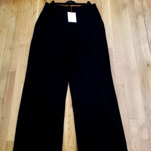Black Wide Leg Dress Pant